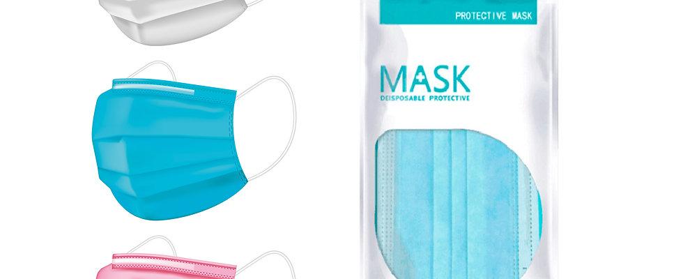 50 Disposable Face Masks