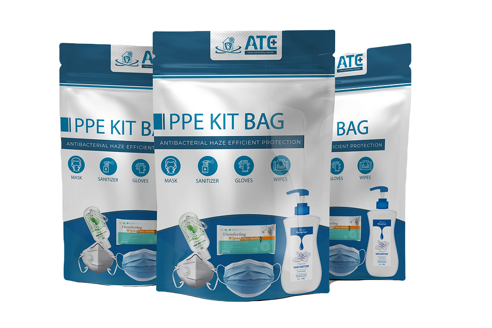 ATC PPE kits-Clean on to go only 21.99