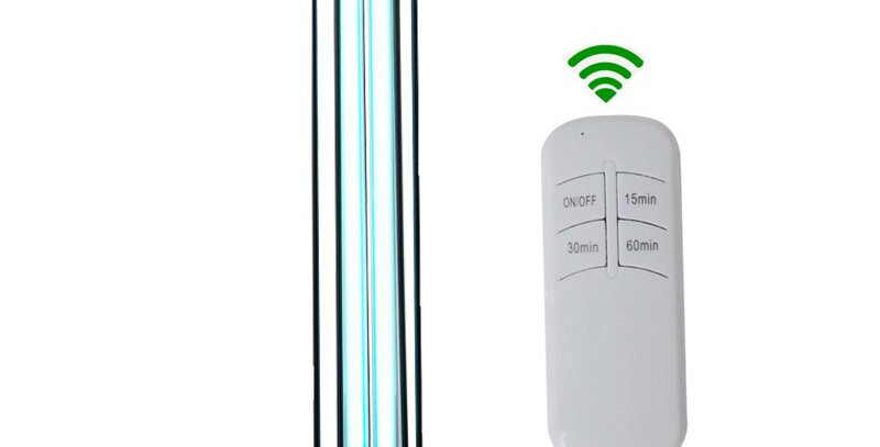 38W UVC Ozone Ultraviolet Germicidal Lamp Remote Control UV Sterilization Lights