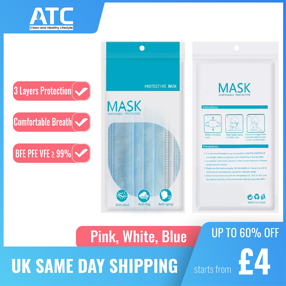 Atchousing provides great quality face masks with fair prices