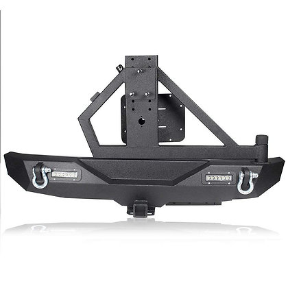 Jeep JK 07-18 Rear Bumper With Lights And Tire Carrier