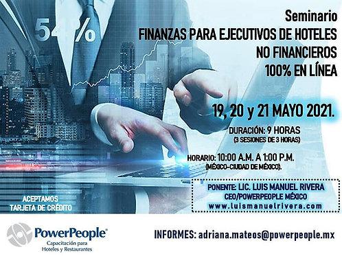 SEMINARIO FINANZAS PARA EJECUTIVOS DE HOTELES NO FINANCIEROS