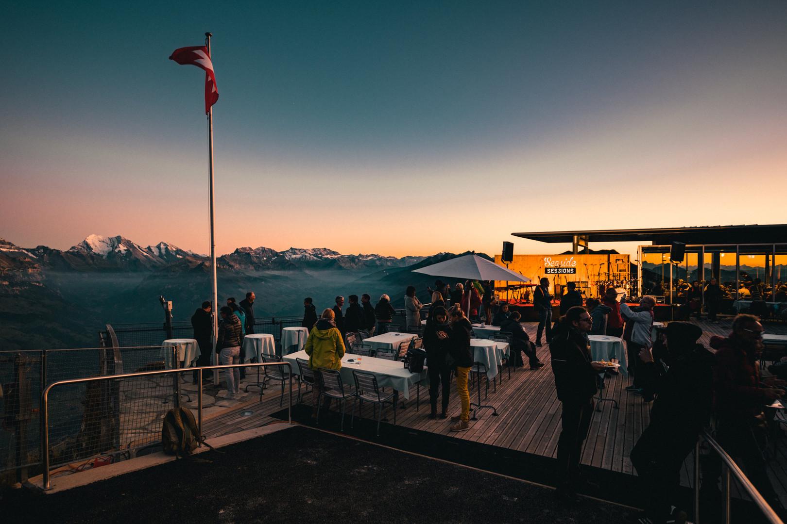 Seaside Sessions auf dem Niesen (12. September 2019)