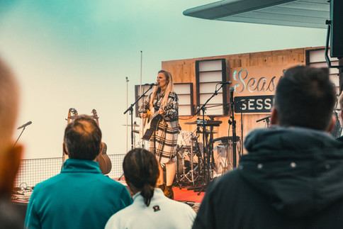 Seaside Sessions im September 2020 auf dem Niesen