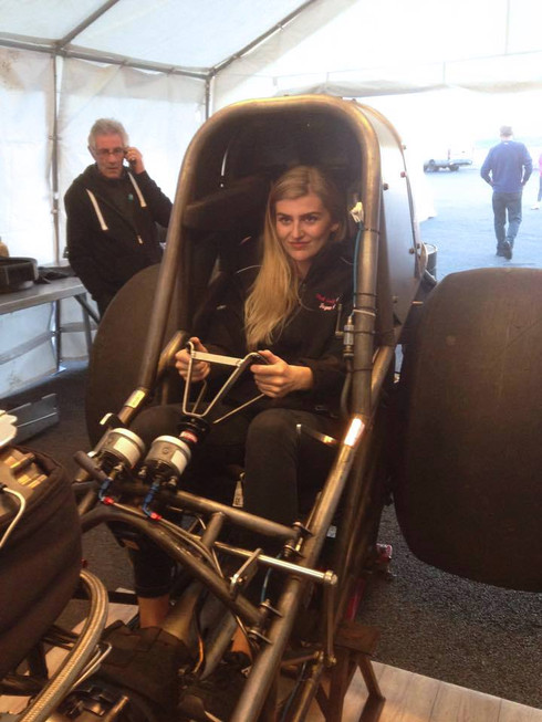 Jayne Kay goes Nitro Funny Car!