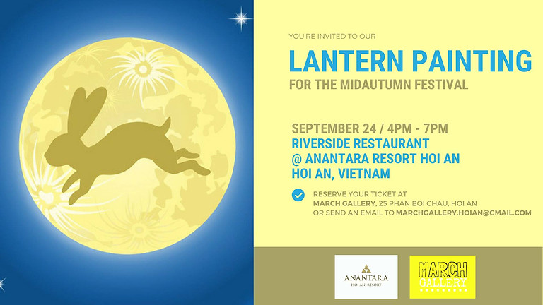Lantern Painting Workshop for Mid Autumn Festival