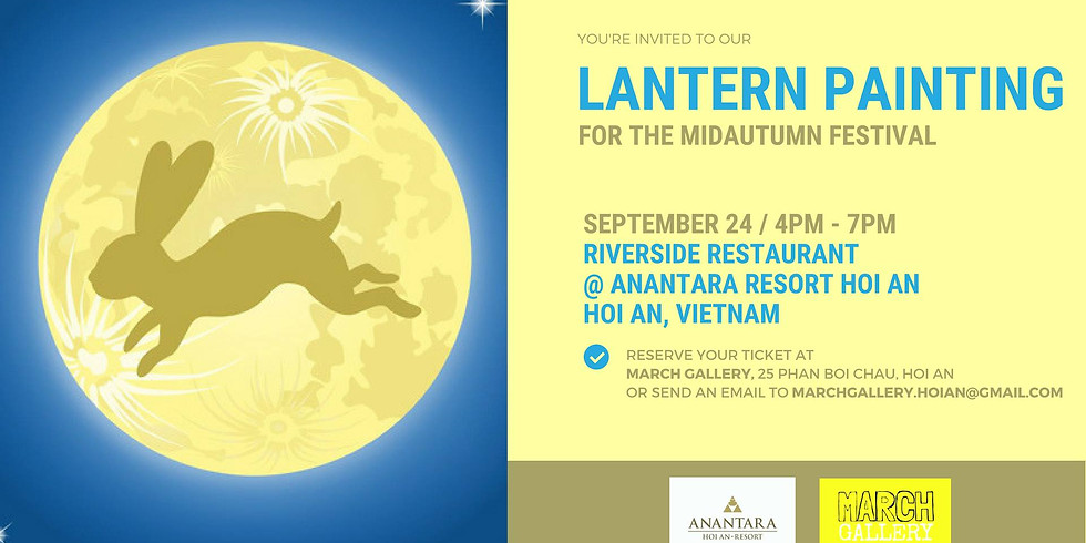 Lantern Painting Workshop for Mid Autumn Festival