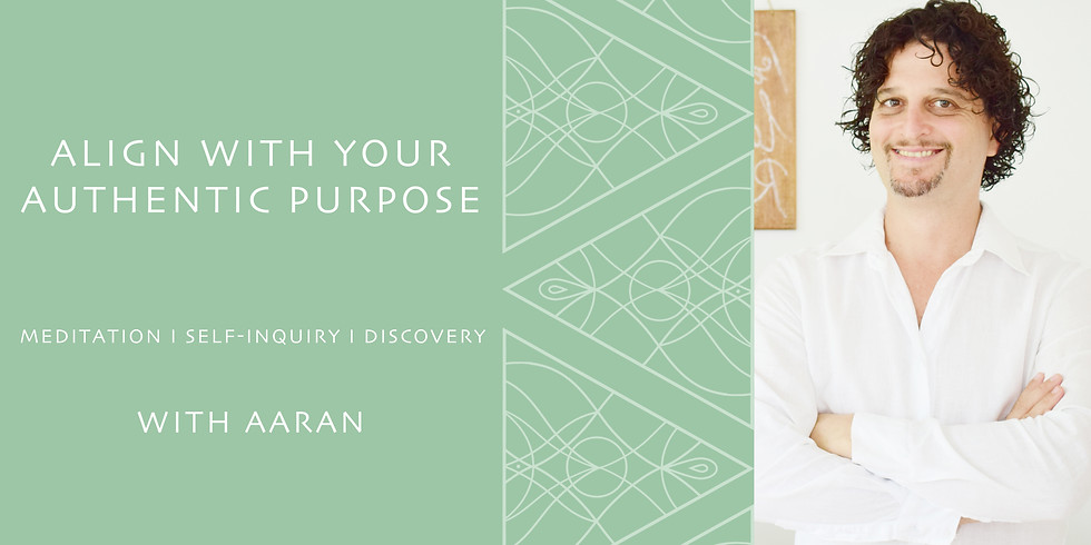 FREE INTRO EVENING - ALIGN WITH YOUR AUTHENTIC PURPOSE