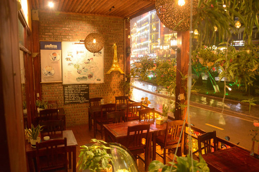 Le Gecko restaurant terrace