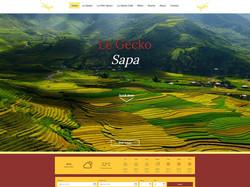 LE GECKO SAPA | WEBSITE DESIGN
