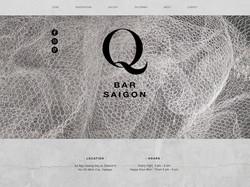 Q BAR SAIGON | WEBSITE DESIGN