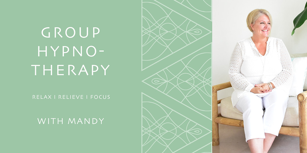 GROUP CLASS - HYPNOTHERAPY FOR SELF ESTEEM