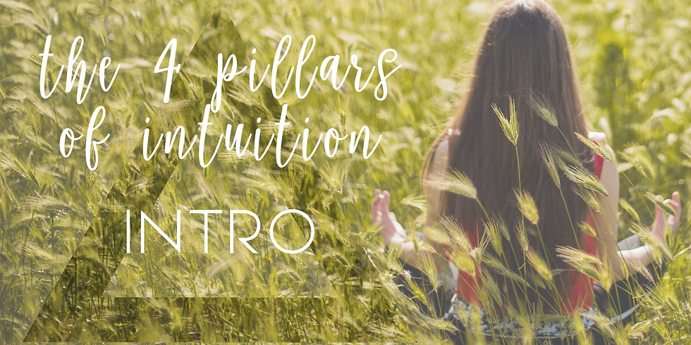 DISCOVERY EVENING - THE 4 PILLARS OF INTUITION (FREE) with AARAN