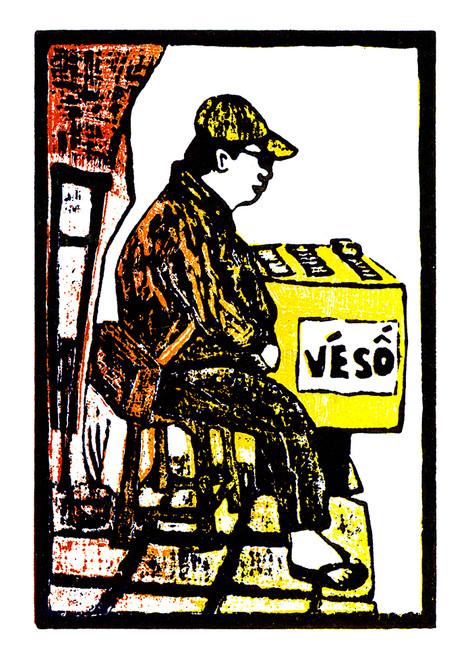 LOTTERY TICKET SELLER - JACK CLAYTON