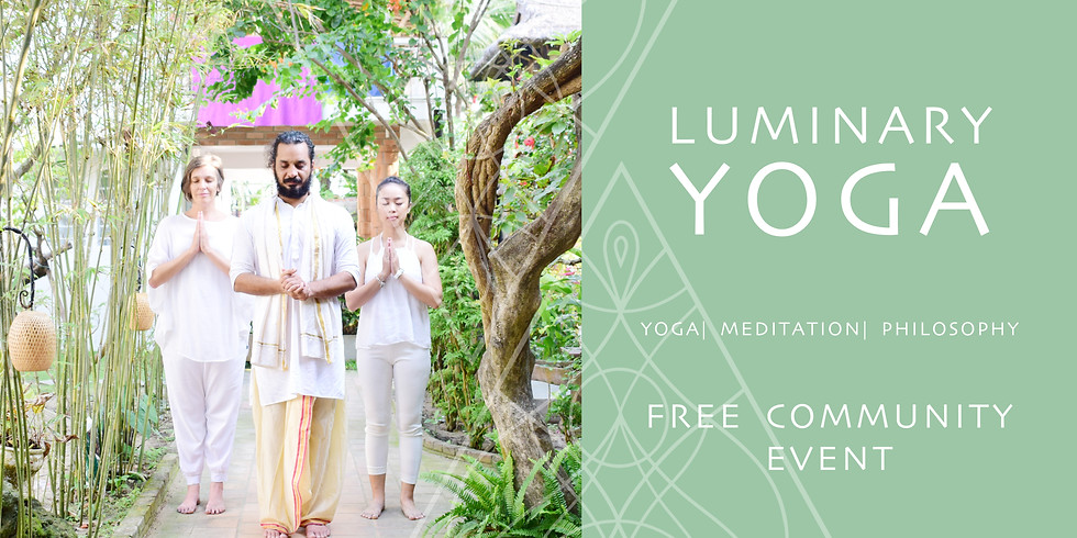 FREE COMMUNITY EVENT - OUTDOOR YOGA & MINDFULNESS CLASS