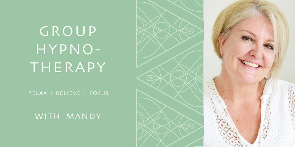 GROUP CLASS - HYPNOTHERAPY FOR STRESS RELIEF