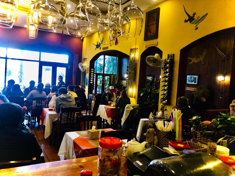 Le Gecko Sapa restaurant
