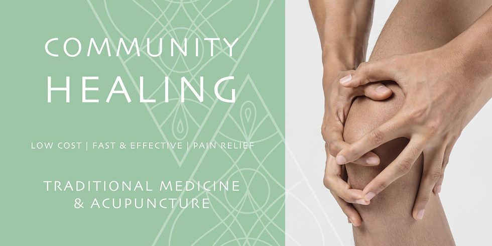 COMMUNITY HEALING - TRADITIONAL MEDICINE & ACUPUNCTURE