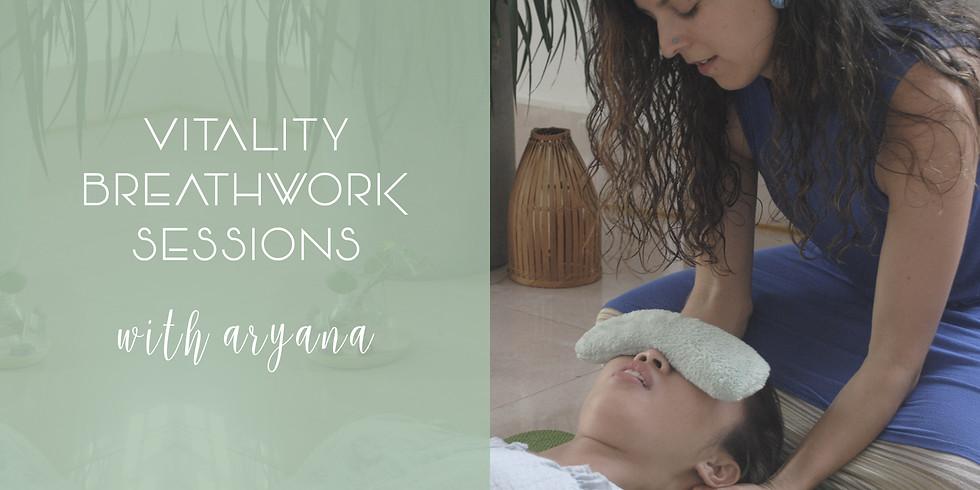 VITALITY BREATHWORK SESSIONS with ARYANA