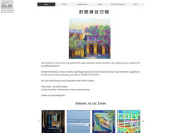 MARCH GALLERY | WEBSITE CURATION