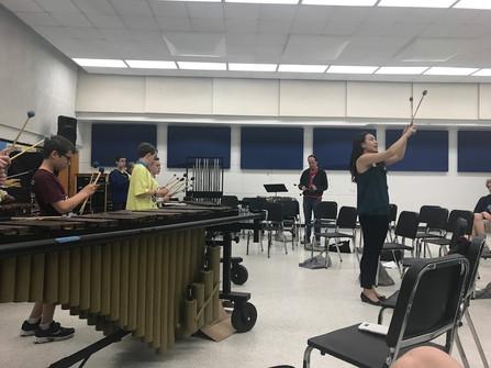Keyboard Percussion Clinic
