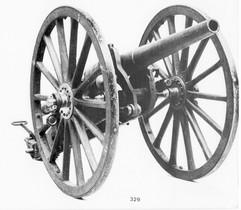 Le canon Nordenfelt de 47mm construit par les usines Cockerill de Seraing