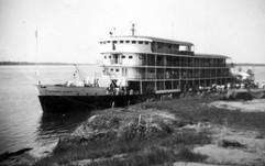 Le géneral Olsen près de Stanleyville 1952