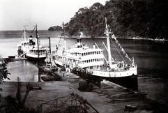 """Le bateau """"Duc de Brabant"""" et le """"Baron Dhanis"""""""