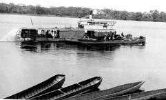 Départ du Bomputu de Wangata 1942