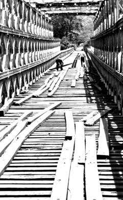 Pont Bailey construit durant les années XX
