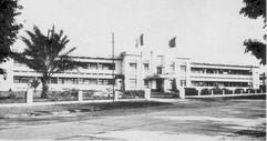 Façade du College Albert 1er à Léopoldville 1948