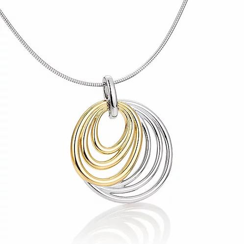 Pendant circles by Breuning