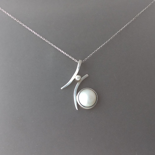 Pendant mabe pearl