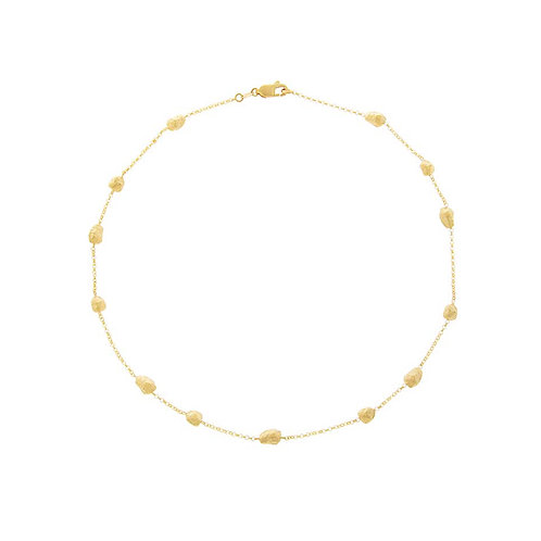 Necklace beads on chain by Tezer