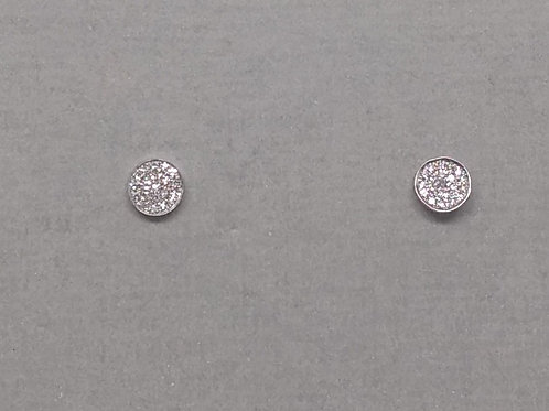Earrings diamond clusters