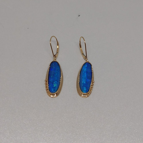 Opals in gold