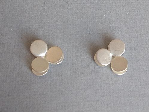 Earrings sterling silver by Kelim