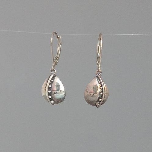 Earrings sterling silver drops