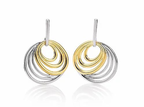 Earrings in circles by Breuning