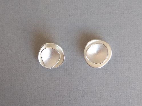 Earrings sterling silver by Tezer