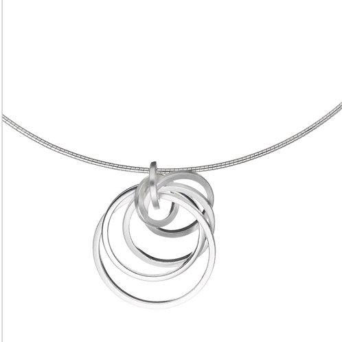 Pendant concentric circles by Tezer