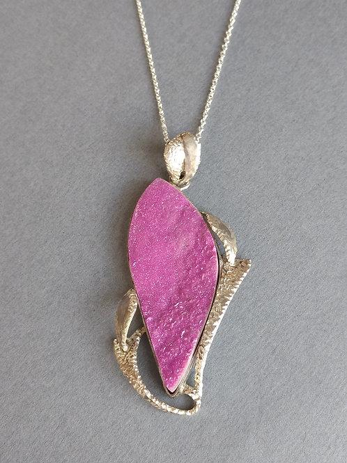 Bright pink cobalt calcite