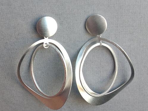 Earrings sterlin silver by Tezer
