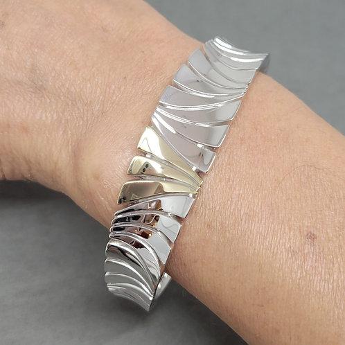 Bangle bracelet sterling silver by Breuning
