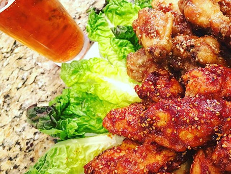 Korean Fried Chicken (간장 & 양념 치킨)