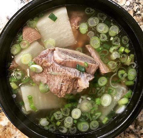 Instant Pot Short Rib Soup (갈비 탕, Kalbi- Tang)