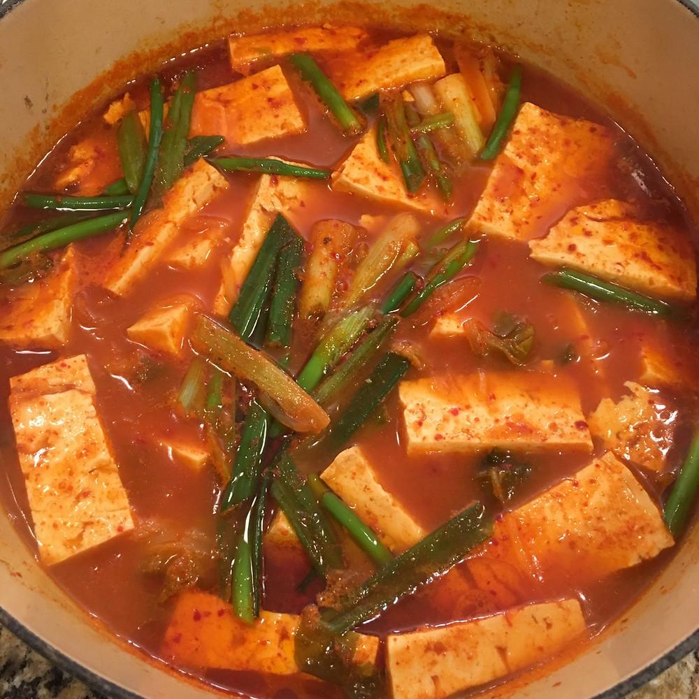 Kimchi Stew - Easy Korean Recipes