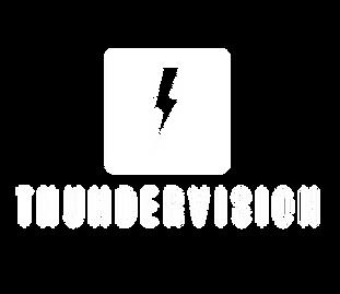 Vertical logo Thundervision White Overla