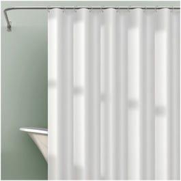 Shower Liner PEVA White
