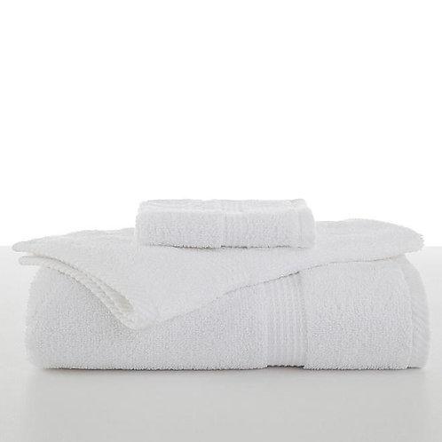 Utica Essential Wash Towel - White